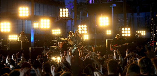 Foo Fighters live at the Grammy Awards