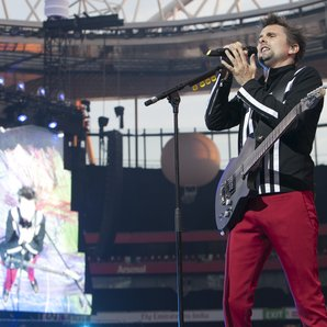 Muse live on stage