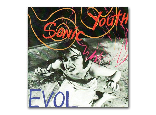 Sonic Youth - Evol album cover
