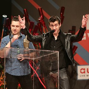 Arctic Monkeys NME Awards 2014