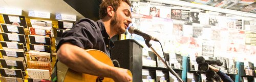 Editor's Tom Smith Record Store Day live 2014