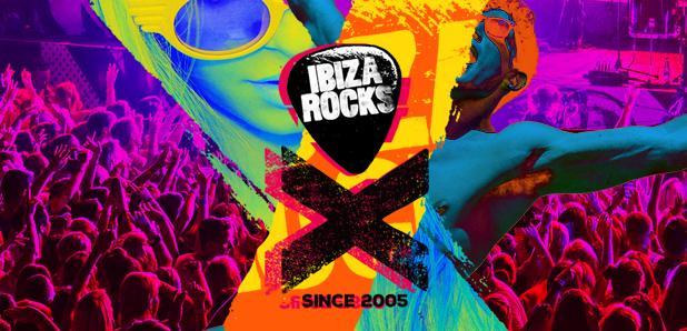 Ibiza Rocks 2015 logo