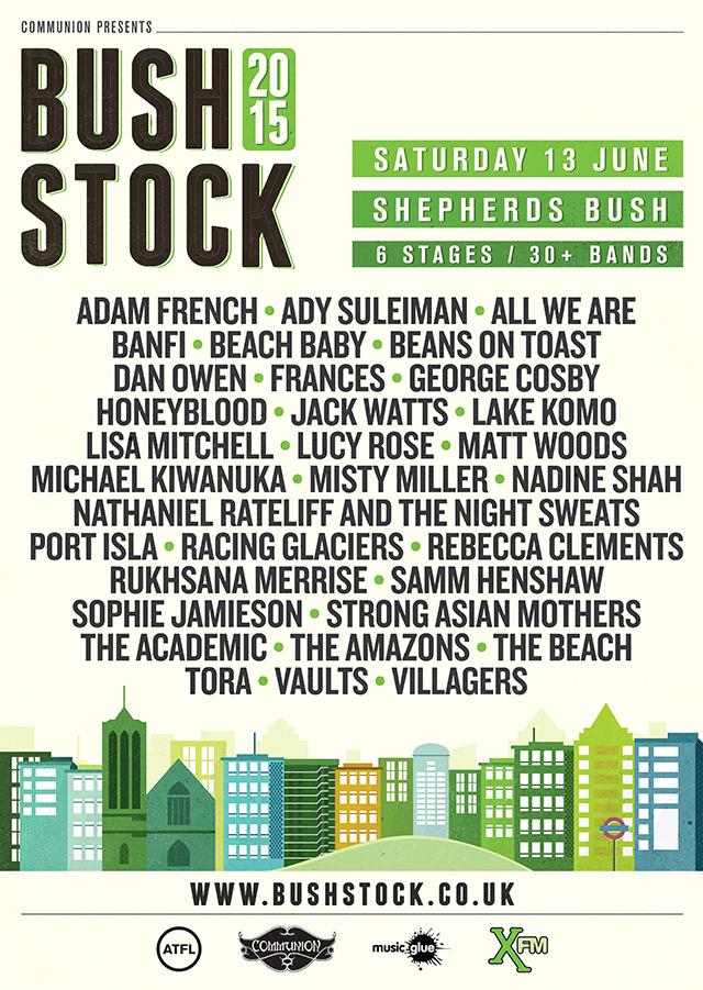 Bushstock 2015 poster