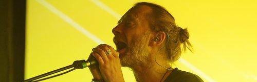 Thom Yorke at Latitude festival 2015