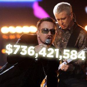 U2 360 Tour earnings