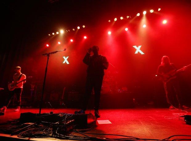 Bloc Party Radio X Road Trip performance images