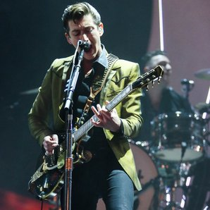 Alex Turner of Arctic Monkeys Brits 2014