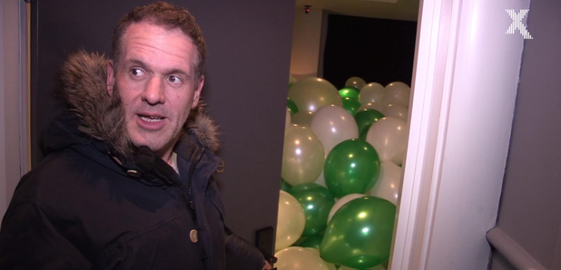 Chris Moyles Road Trip Manchester Balloons