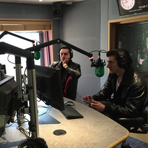 The Last Shadow Puppets in Radio X studio
