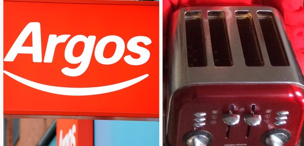 Argos splitscreen kid with toaster