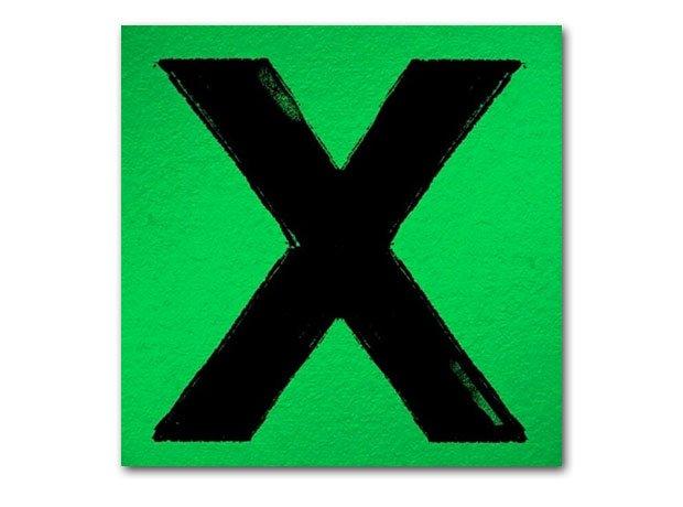 Ed Sheeran X Artwork on background.