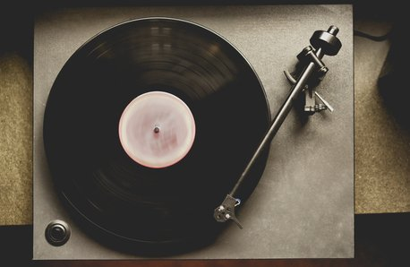 record Player stock image