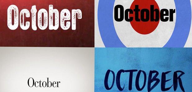 October Facebook teaser still various artists