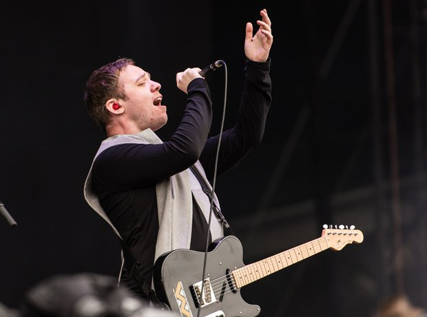 Everything Everything at Isle Of Wight Festival 20