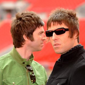 Noel and Liam, Gallagher London's Wembley Stadium