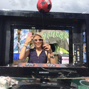 Pippa At Glastonbury 2016