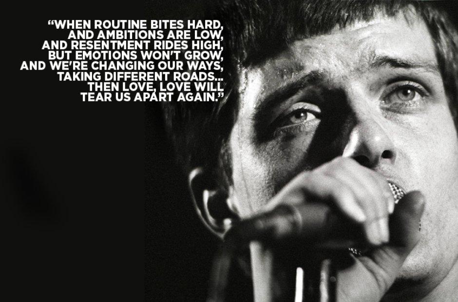 Joy Division Lyrics - Love Will Tear Us Apart