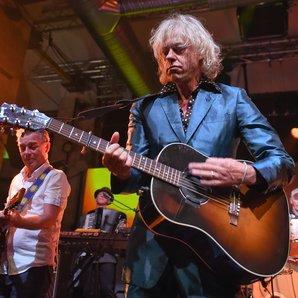 Bob Geldof Performing in 2015
