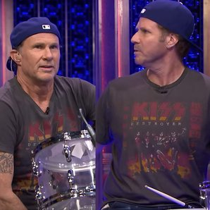 Will Ferrell Chad Smith Drum-Off