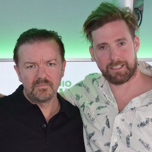 Ricky Wilson and Ricky Gervais