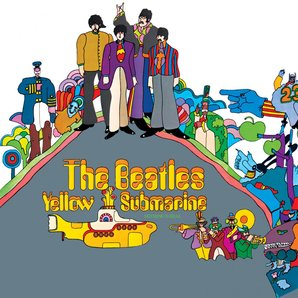 The Beatles - Yellow Submarine album cover