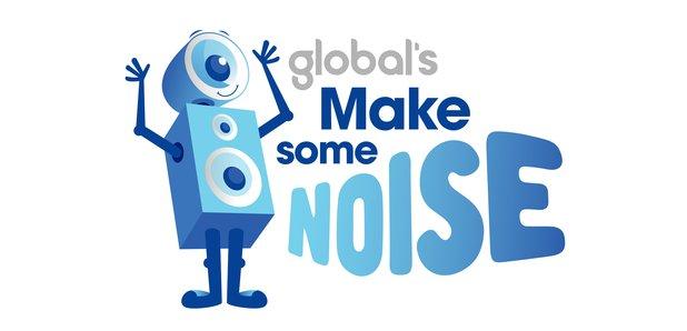 Global's Make Some Noise logo 2016