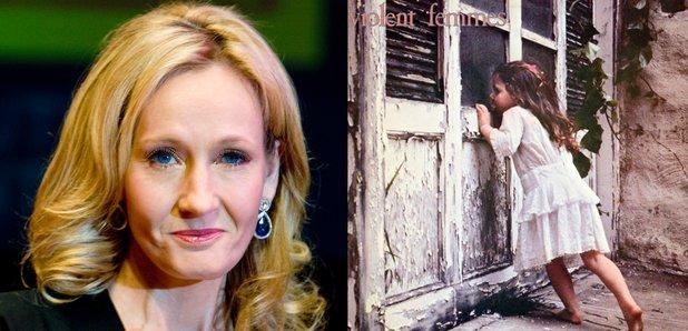 J.K Rowling with Violent Femmes debut album