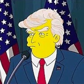 Donald Trump on The Simpsons and in New York