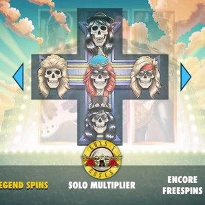 Guns N' Roses online slot machine game