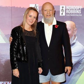 Emily and Michael Eavis in 2014