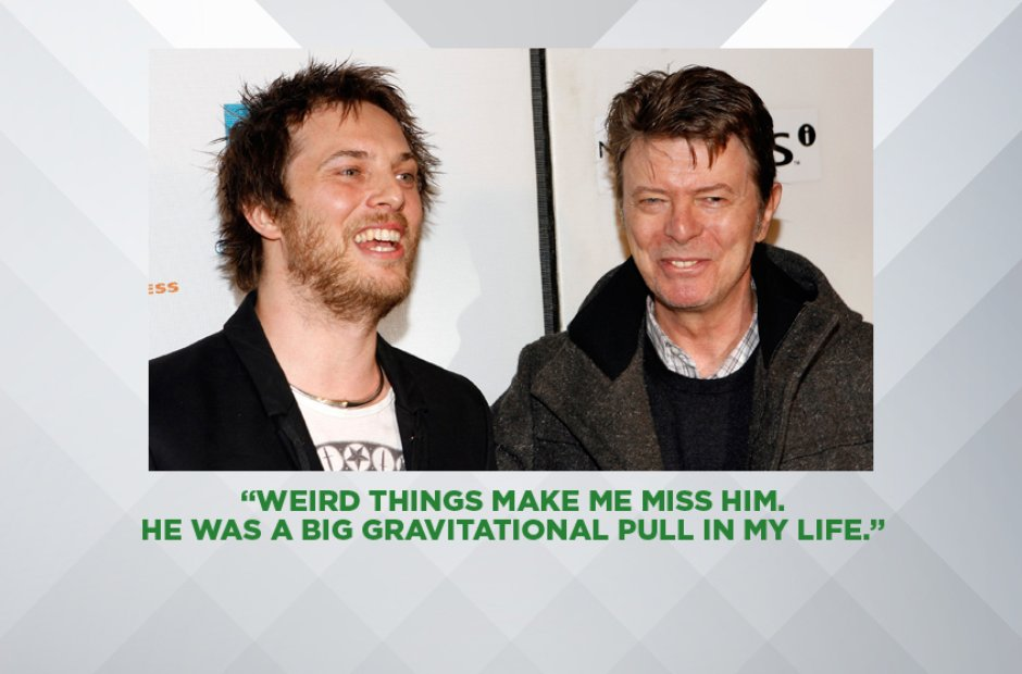 DUNCAN JONES ON HIS FATHER DAVID BOWIE, MAY 2016