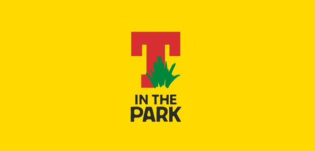 T in The Park large yellow background