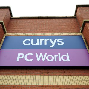 Currys PC World Sign Staffordshire