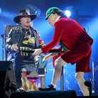 Axl Rose and Angus Young 2016