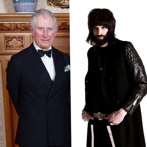 Prince Of Wales and Serge Kasabian