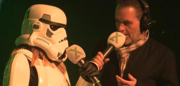 Chris Moyles Show Mystery Stormtrooper