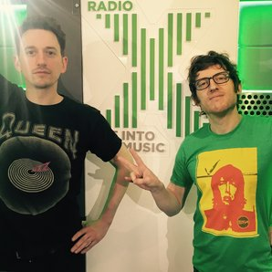 John Robins and Elis James Wear It For War Child