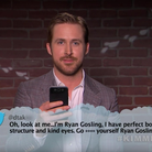 Oscars mean tweets Ryan Gosling still