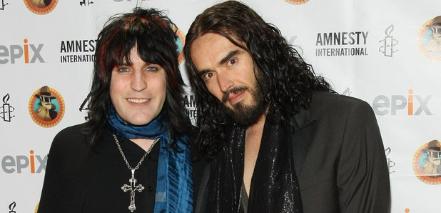 Russell Brand and Noel Fielding 2012