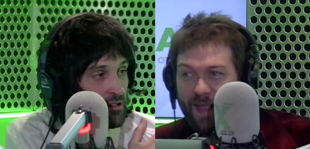 Serge Pizzorno and Tom Meighan Kasabian Radio X
