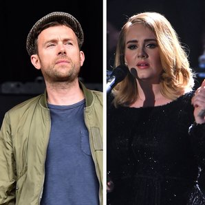 Damon Albarn and Adele