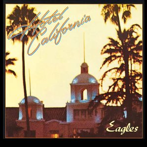 Hotel California Eagles album artwork