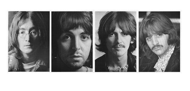 Beatles White Album portraits