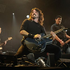 Dave Grohl performing 2011