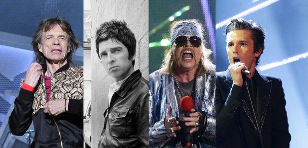 Glastonbury Secret Set Rumours Mick Jagger, Noel G