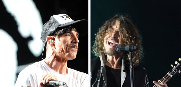 Anthony Kiedis and Chris Cornell