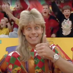 Pat Sharp in Fun House