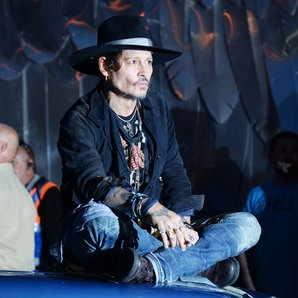 Johnny Depp Glastonbury 2017