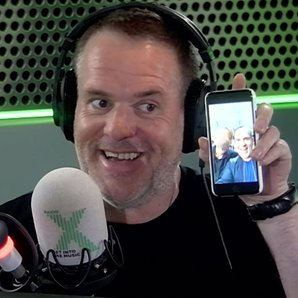 Guess who Chris Moyles bumped into Ireland