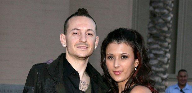 Chester Bennington and wife Talinda